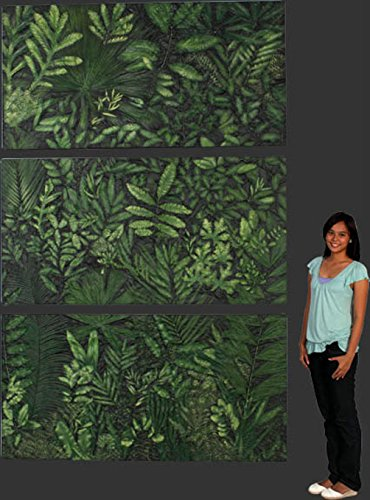 - The Kings Bay Museum Jungle Wall Frieze Back Drop Jurassic Park Terra Nova Movie Studio Prop