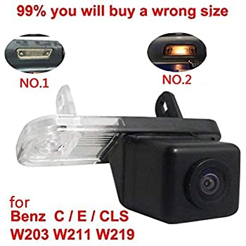 Amazon com: Navinio Backup Camera Waterproof Rear-View License Plate