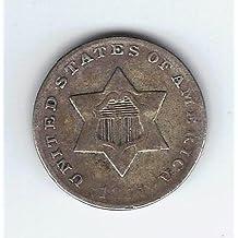 1851-1862 Silver Three Cent Piece G/VG