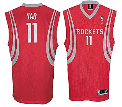 Image Unavailable. Image not available for. Color  Yao Ming Houston Rockets  NBA Tackle Twill Swingman ... f9df468e7