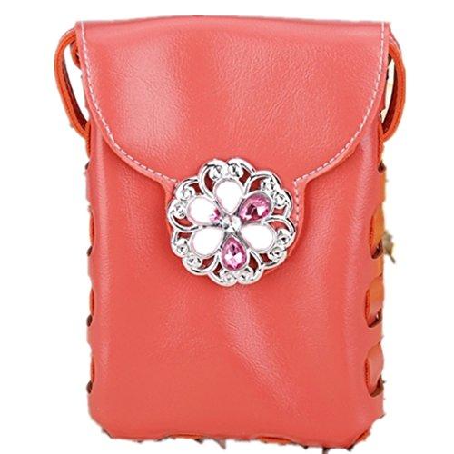 Bolso - Ocio Casual Top Hanle bolso hombro Bag(Yellow) All4you moda de la mujer Naranja