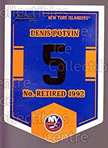(CI) Denis Potvin Hockey Card 2012-13 Classics Signatures Banner Numbers 49 Denis Potvin