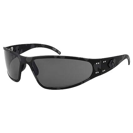 Amazon.com: Gatorz Wraptor Black Cerakote Camo, gafas de sol ...