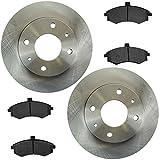 #5: Brake Pad & Rotor Semi Metallic Set Kit for 02-05 Hyundai Elantra