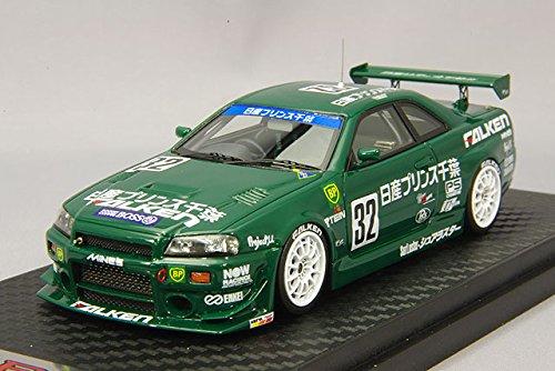 1/43 Nissan Prince Chiba GT-R Falken #32 1999 Super Taikyu(グリーン) IG0092