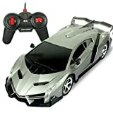 YXIAOL Large Charging Remote Control Car Children's Toy Car Remote Control Car Toy Boys Drift Racing Sports Car,RamboVENGrey