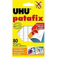 UHU 44810 Patafix Gluepads - White (Pack of 80)