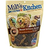 Milo's Kitchen Home-Style Dog Treats Steak Grillers Recipe with Angus Steak, 18.0 OZ