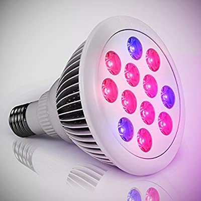 Planet Homeware LED Grow Bulb - Minimal Heat Rapid Growth High Efficiency Indoor Red & Blue LED Garden Grow Bulb