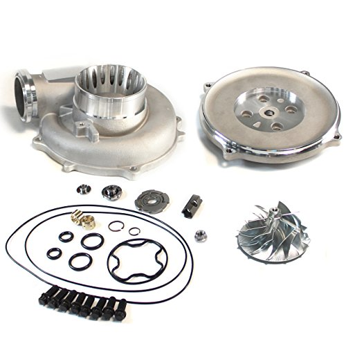 SUPERCELL 94-97 Powerstroke 7.3 TP38 Turbo Billet Compressor Wheel DIY Upgrade Kit