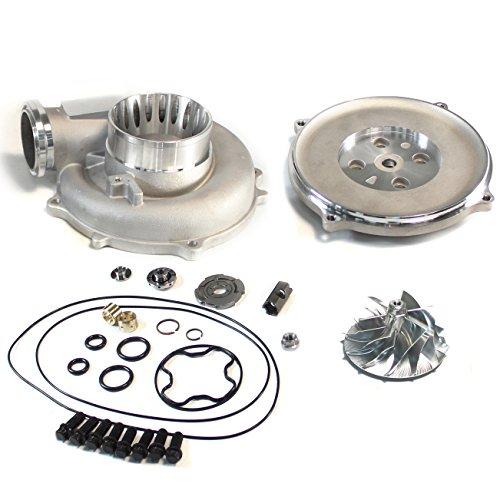 - SUPERCELL 94-97 Powerstroke 7.3 TP38 Turbo Billet Compressor Wheel DIY Upgrade Kit