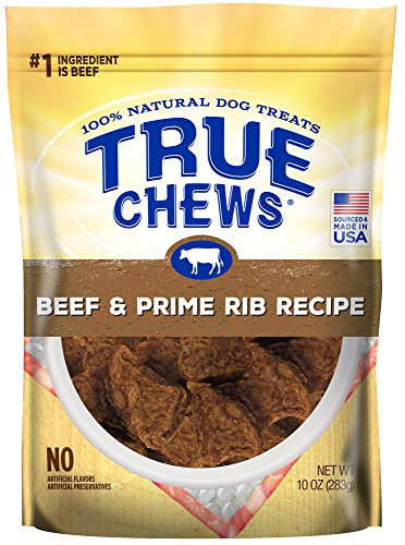 True Chews Dog Treats, Beef & Prime Rib Recipe, 10 oz - Beef Ribs Recipes