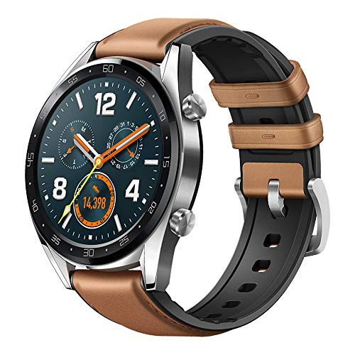 Huawei Watch GT Fashion – Reloj (TruSleep, GPS, monitoreo del ritmo cardiaco), Marrón