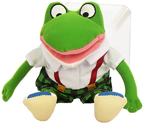 Froggy Plush - MerryMakers Froggy Plush Doll, 11-Inch