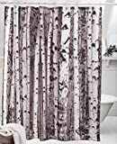 Design Your Own Shower Curtain Moldiy Shower Curtain, 72 x 72 inches,Birch Pattern, 100% Polyester