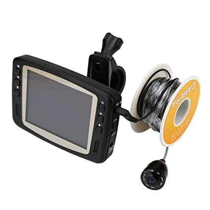 Fish and Depth Finders, HD Visible Fishing Artifact Underwater Infrared Camera Fishing Gear Anchor Fish