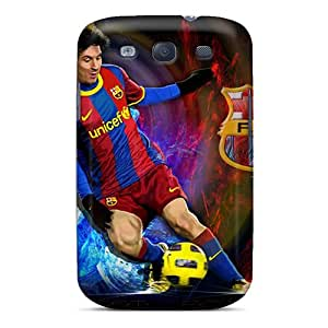 Cute Tpu Buydiycase 2013 Lionel Messi Case Cover For Galaxy S3