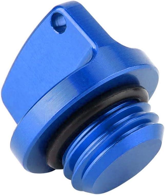 Oil Filler Cap Plug CNC Aluminum Racing Engine Replacement for Honda CBR 250RR 600RR 1000RR CR CRF 125R 150R 250R 450R Replacement for Yamaha Suzuki Kawasaki Godyluck