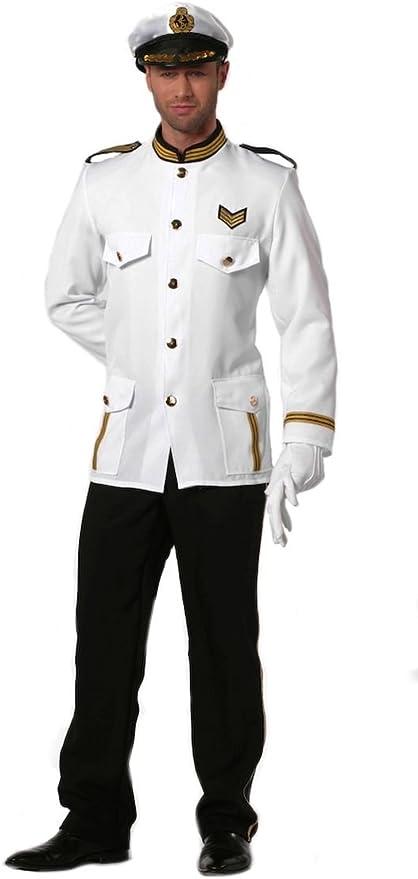 Disfraz hombre oficiales de la Marina, 50 - 60 Gr.: Amazon.es ...