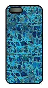 Fun Day Colored Stone Wall 3 - Blue Custom Hardshell Back Case For Iphone 4 Iphone 4S -1126075