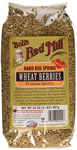 Hard Red Spring Wheat Berries, 32 oz (907 g) (Whole Wheatberries)
