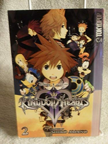 Kingdom Hearts II Volume 2 by Shiro Amano (English) Paperback Book 1st Edition