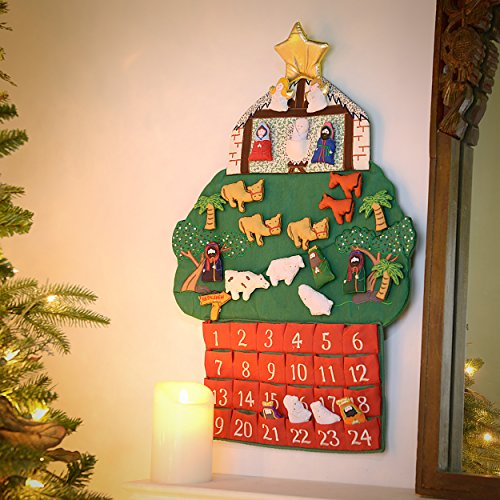 (Kubla Crafts Nativity Fabric Advent Calendar)