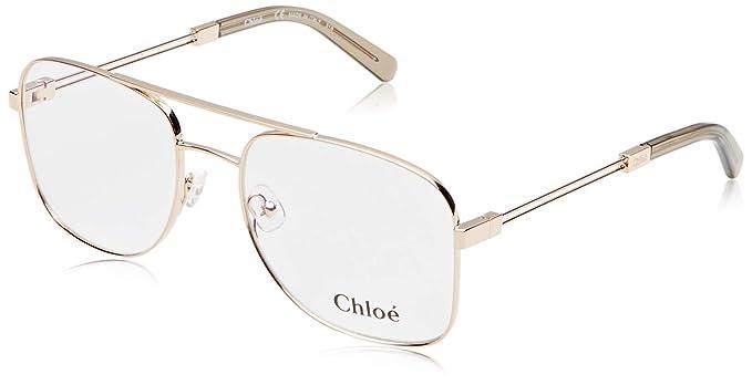 3bc23e84ca Chloé Ce2133 788 55, Monturas de gafas Unisex-para Niños, Rose  Gold/Turtledove: Amazon.es: Ropa y accesorios