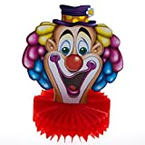 10'' Clown Centerpiece Birthday Party Circus Decoration