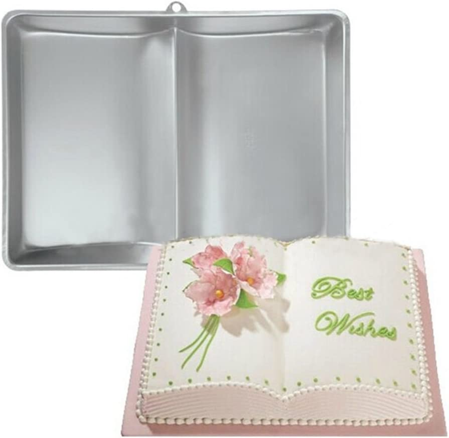 Plum Garden 3D Book Shape Cake Baking Mold, Cake Mold for Make Cake