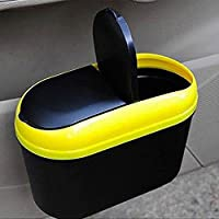 UXOXAS Automotive Interior Waste Bin Multi-Functional Portable Folding Hanging Trash Rack Receive Vehicle Garbage