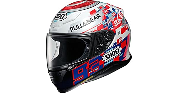 Shoei NXR Marquez Power Up casco de moto: Amazon.es: Deportes y aire libre