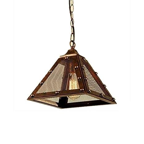 Louvra Lámpara Vintage Colgante Luz Industrial Casquillo E27 ...