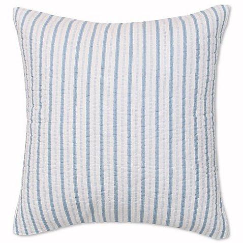 Sag Harbor European Pillow Sham in Blue