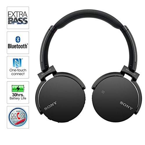 Sony Bluetooth Earbuds Extra Bass Bluetooth Transmitter Tv Phone Sena 20s Bluetooth Headset Bluetooth Aux Adapter Kmart: Sony MDRXB650BT/B Extra Bass Bluetooth Headphones, Black