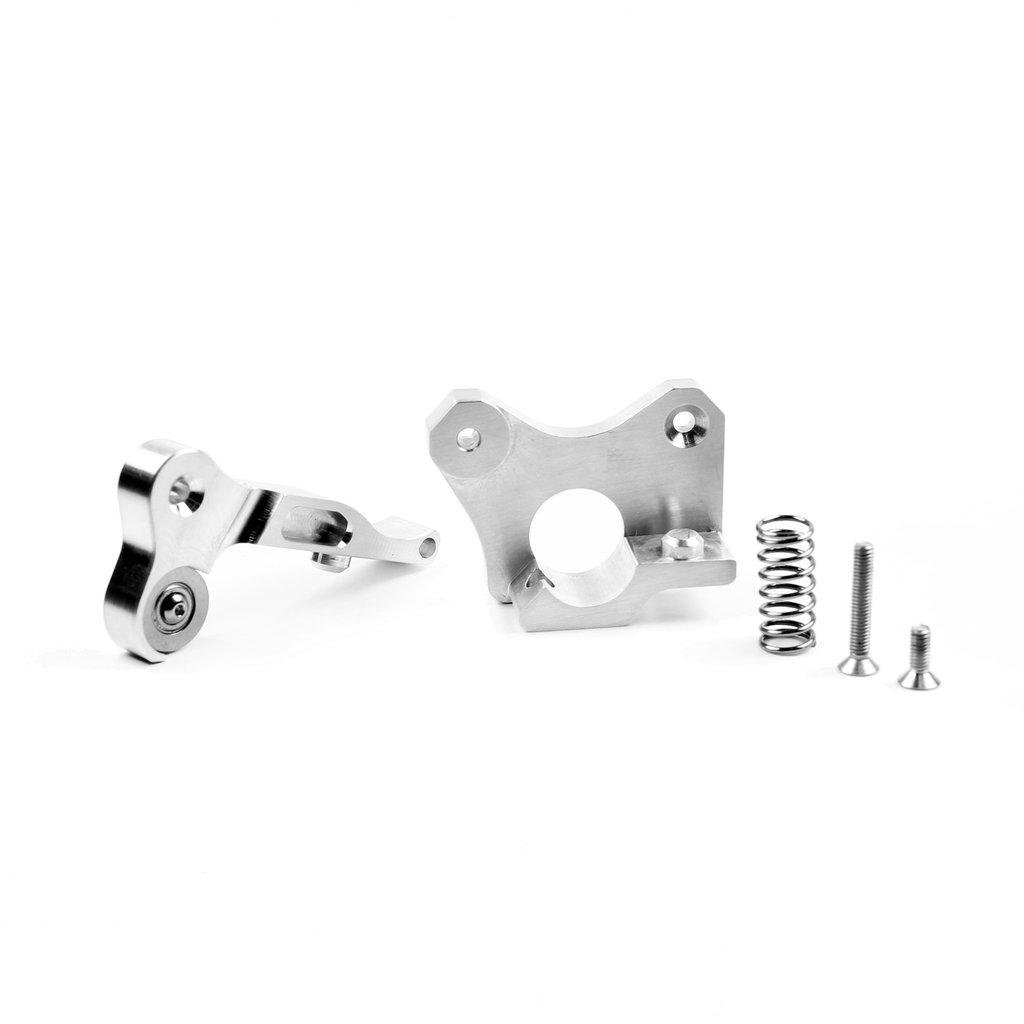 Micro Swiss CNC Machined Lever and Extruder Plate for Wanhao i3 (Full Kit)