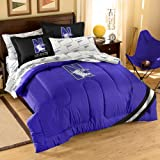 Officially Licensed NCAA Northwestern Wildcats Twin/Full Size Comforter with Sham Set