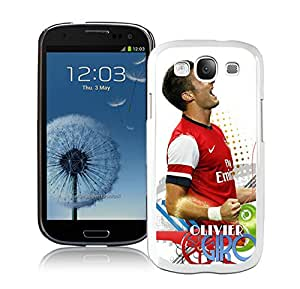 Beautiful Case Olivier Giroud 2 White Case for Samsung Galaxy S3 I9300