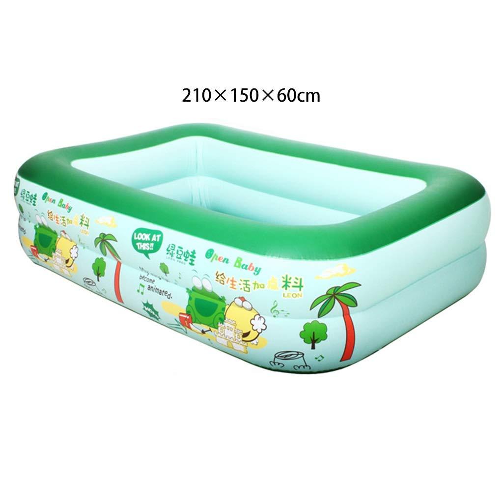 Das aufblasbare Pool der Kinder verdickte das Erwachsene Kinderpoolbaby-Familienhaus der Erwachsenen Kinder (größe   1.8m3layer)  2.1m2layer