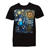 Adventure Time Starry Night Tee Shirt Medium Black