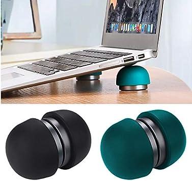 Apple,Petit ordi Portable,Laptop Stand Antid/érapant r/églable pour macbook Pro Cooling Feet Holder MorLugan Support Ordinateur Portable,Mini Heat Reduction Pad