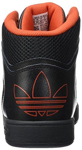 Unisexe noir Varial Noir Orange Adultes Et De Adidas Pour Chaussures Orange Skate Core Mid xgqw06WBv