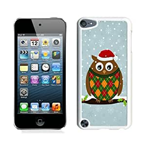 Diy Christmas Owls White iPod Touch 5 Case 2