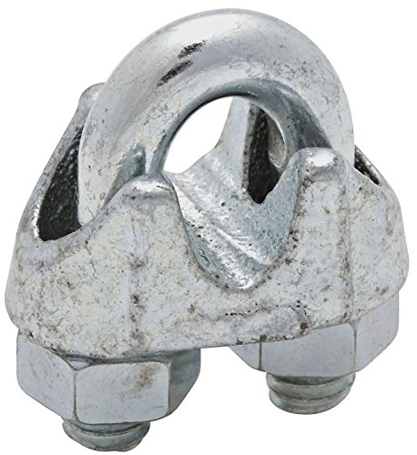 National #N248-294 1/4' ZN Cable Clamp National Mfg Co