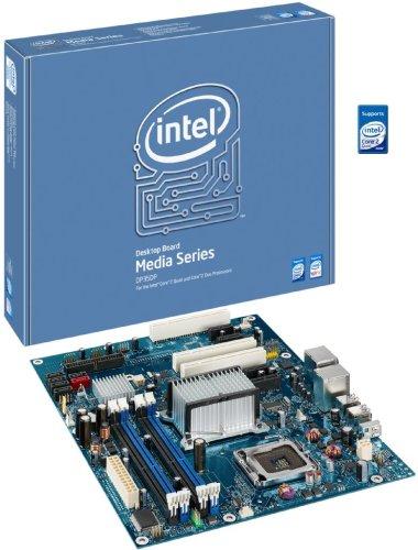 Intel DP35DP Media Series P35 ATX DDR2 800 PCIe x161333MHz FSB LGA775 Desktop Board - (Socket Lga775 Ddr2 Pci Express)