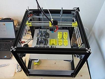 Amazon.com: Zamtac - 1 juego de impresoras 3D HyperCube ...
