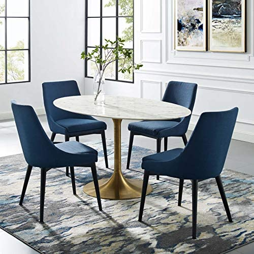Modway Lippa 60 Mid-Century Dining Table