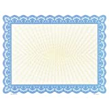 Goes 34625 Blank Certificate Paper - Pack of 100