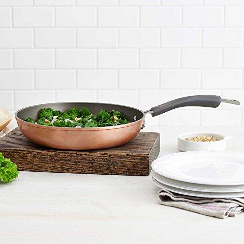 Epicurious Aluminum Nonstick 10-Inch Open Fry Pan in Copper
