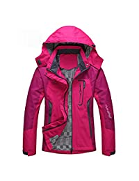 Diamond Candy Sportswear Women's Waterproof Jacket Outdoor raincoat Hooded Softshell